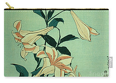 Trumpet Lilies Carry-all Pouch