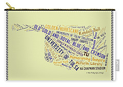 Tu Word Art University Of Tulsa Carry-all Pouch