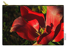 Tulips 2 Carry-all Pouch by Steve Warnstaff