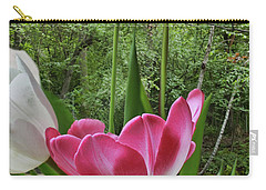 Carry-all Pouch featuring the photograph Tulips by Bonnie Willis