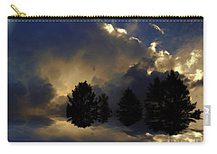 Carry-all Pouch featuring the photograph Tumultuous by Elfriede Fulda