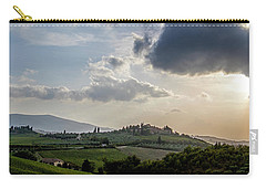 Tuscan Hillside Carry-all Pouch by Jean Haynes
