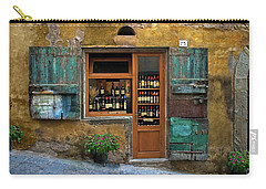 Tuscany Wine Shop 2 Carry-all Pouch