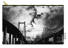 Two Bridges One Moon Carry-all Pouch