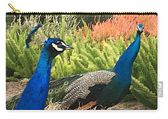 Two Friends Carry-all Pouch by Kruti Shah