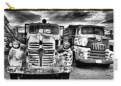 Carry-all Pouch featuring the photograph Two Old Beauties by Jeff Swan