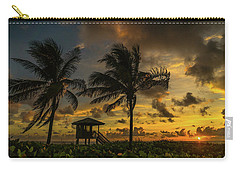 Two Palm Sunrise Delray Beach Florida Carry-all Pouch
