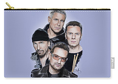 U2 Carry-all Pouch by Melanie D