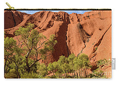 Carry-all Pouch featuring the photograph Uluru 07 by Werner Padarin