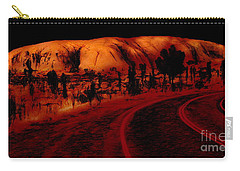 Uluru Sunrise Carry-all Pouch
