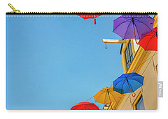 Umbrellas In The Sky Carry-all Pouch