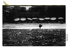 Carry-all Pouch featuring the photograph Umbrellas by Nik West