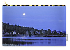 Under A Winter Moon Carry-all Pouch by Nancy Marie Ricketts