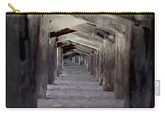 Under The Pier Carry-all Pouch by Ernie Echols