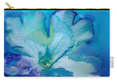 Underwater Flower Abstraction 7 Carry-all Pouch by Lorella Schoales