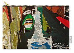 Unfinished Venice Italy  Carry-all Pouch