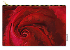 Unfurling Beauty Iv Carry-all Pouch