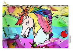 Unicorn Popart By Nico Bielow Carry-all Pouch