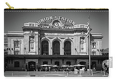 Carry-all Pouch featuring the photograph Union Station by Tim Stanley