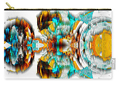 Carry-all Pouch featuring the digital art Untitled Series 992.042212 -c by Kris Haas
