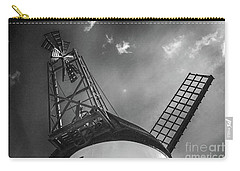 Unusual View Of Windmill - St Annes - England Carry-all Pouch