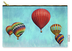 Carry-all Pouch featuring the photograph Up Up And Away 2 by Benanne Stiens
