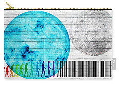 Urban Graffiti - Binary Evolution Carry-all Pouch