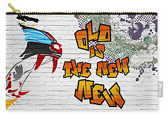 Urban Graffiti - Old Is The New New Carry-all Pouch