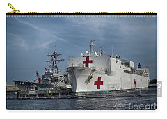 Uss Comfort Carry-all Pouch by Melissa Messick