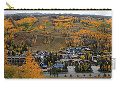 Vail Colorado Carry-all Pouch by Fiona Kennard