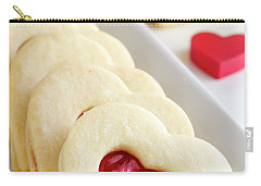 Carry-all Pouch featuring the photograph Valentines Day Treats by Teri Virbickis