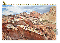 Valley Of Fire High Country Carry-all Pouch by Ray Mathis