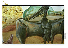 Carry-all Pouch featuring the painting Vega by Ryan Demaree