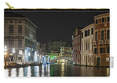 Carry-all Pouch featuring the photograph Romantic Venice  by Silvia Bruno