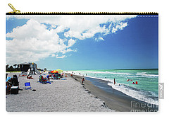 Carry-all Pouch featuring the photograph Venice Beach by Gary Wonning