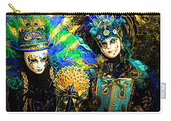 Venice Carnival I '17 Carry-all Pouch by Yuri Santin