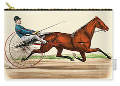 Victorian Jockey Carry-all Pouch