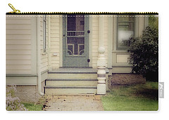 Carry-all Pouch featuring the photograph Victorian Porch by Jill Battaglia