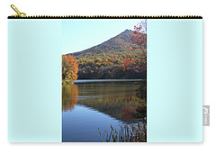 View Of Abbott Lake And Sharp Top In Autumn Carry-all Pouch
