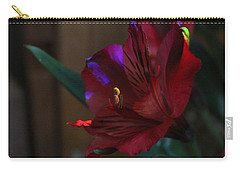 Carry-all Pouch featuring the photograph Waiting For You by Marie Neder