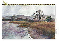 Walden Ponds On An April Evening Carry-all Pouch