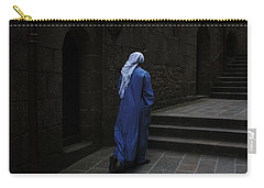 Walk Of Faith Carry-all Pouch by Therese Alcorn