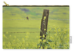 Warbler In The Meadow Carry-all Pouch