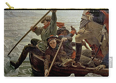 Washington Crossing The Delaware River Carry-all Pouch by Emanuel Gottlieb Leutze