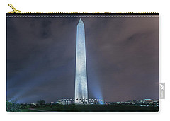 Carry-all Pouch featuring the photograph Washington Monument by Theodore Jones