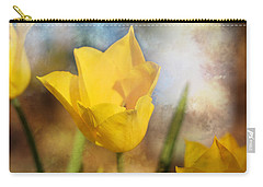 Water Lily Tulip Flower Carry-all Pouch