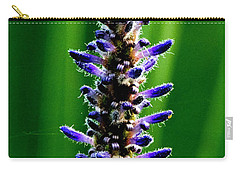 Carry-all Pouch featuring the photograph Water Plant 3 by Buddy Scott