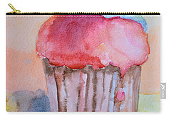 Watercolor Illustration Of Cake  Carry-all Pouch