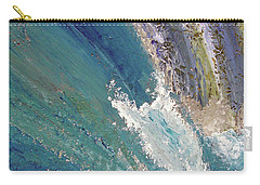 Waterfalls 2 Carry-all Pouch by Karen Nicholson