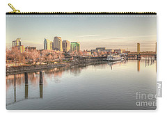 Carry-all Pouch featuring the photograph Waterfront Wonder  by Charles Garcia